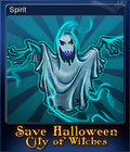 Save Halloween City of Witches Card 03
