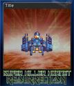 Super Killer Hornet Resurrection Card 10