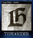 TypeRider Card 2