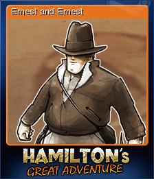 Hamilton's Great Adventure Card 6