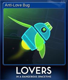 Lovers in a Dangerous Spacetime Card 1