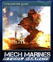 Mech Marines Steel March Card 5