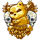 Project Zomboid Badge Foil
