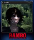 Rambo The Video Game Card 6