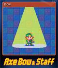 Axe, Bow & Staff Card 2