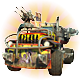 Hard Truck Apocalypse Rise Of Clans Badge Foil