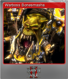 Warhammer 40,000 Dawn of War II Foil 11