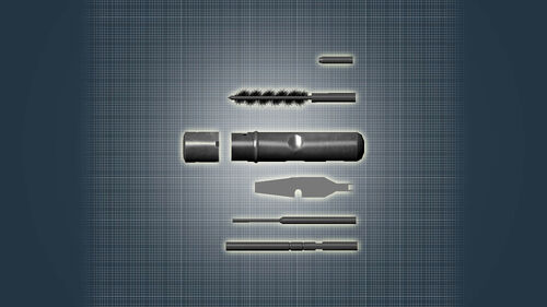 World of Guns Gun Disassembly Artwork 10