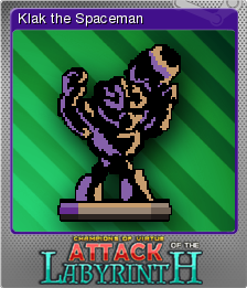 Attack of the Labyrinth + Foil 6