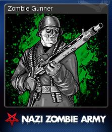Sniper Elite Nazi Zombie Army Card 7