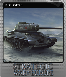 Strategic War in Europe Foil 8