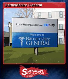 Surgeon Simulator 2013 Card 1