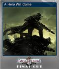 The Incredible Adventures of Van Helsing Final Cut Foil 1