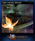 Time Mysteries The Ancient Spectres Card 2