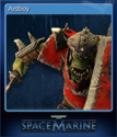 Warhammer 40,000 Space Marine Card 11