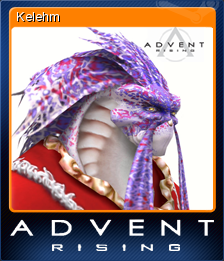Advent Rising Card 08