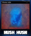 Hush Hush - Unlimited Survival Horror Card 05