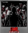 OMG Zombies Foil 1