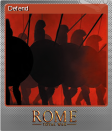 Rome Total War Foil 3