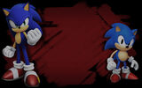 Sonic Forces Background Sonic & Classic Sonic