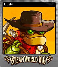 SteamWorld Dig Foil 1