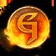 Gauntlet Badge Foil