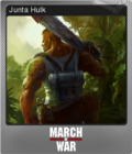 March of War Foil 12