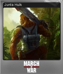 March of War Foil 12