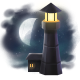 To the Moon Badge 3