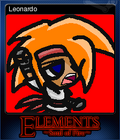 Elements Soul of Fire Card 1