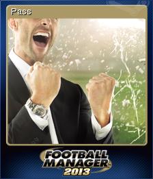 Football Manager 2013 Pass
