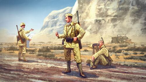 Sniper Elite 3 Wallpaper: Sniper Elite 3 - Italian Soldiers