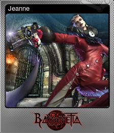 Bayonetta foil 08
