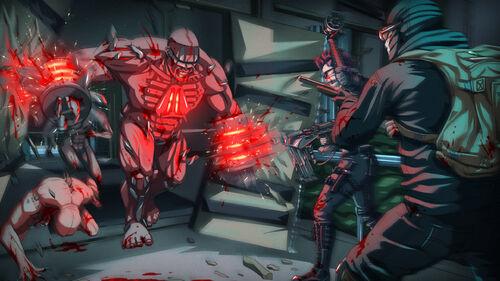 Killing Floor 2 Fleshpound Rage Steam Trading Cards