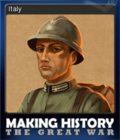 Making History The Great War Card 6