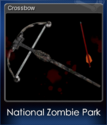 National Zombie Park Card 1