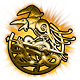 War of the Vikings Badge Foil