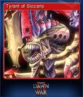 Warhammer 40,000 Dawn of War II Card 4