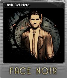 Face Noir Foil 1
