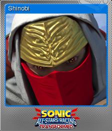 Sonic & All-Stars Racing Transformed Foil 5