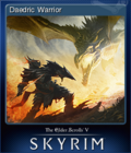 The Elder Scrolls V Skyrim Card 4