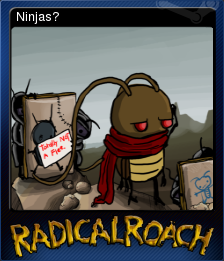 RADical ROACH Deluxe Edition Card 01