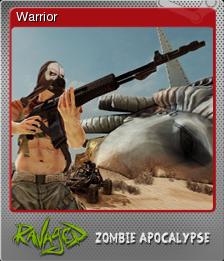 Ravaged Zombie Apocalypse Foil 1