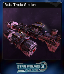 Star Wolves 3 Civil War Card 6