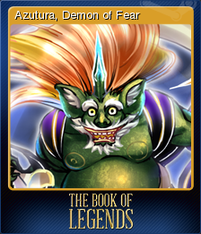 The Book of Legends Card 1