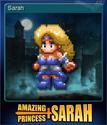 Amazing Princess Sarah Card 01