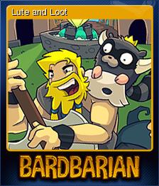Bardbarian Card 7
