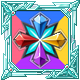BlazBlue Cross Tag Battle Badge Foil