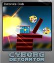 Cyborg Detonator Foil 2