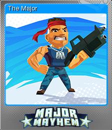 Major Mayhem Card 02 Foil